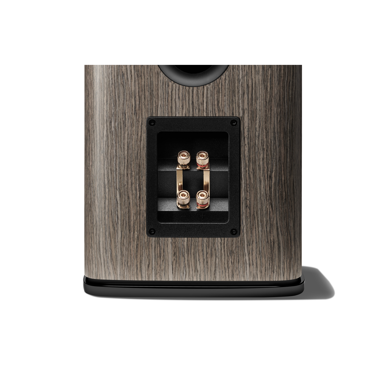 HDI-1600 - Grey Oak - 2-way 6.5-inch (165mm) Bookshelf Loudspeaker - Detailshot 2