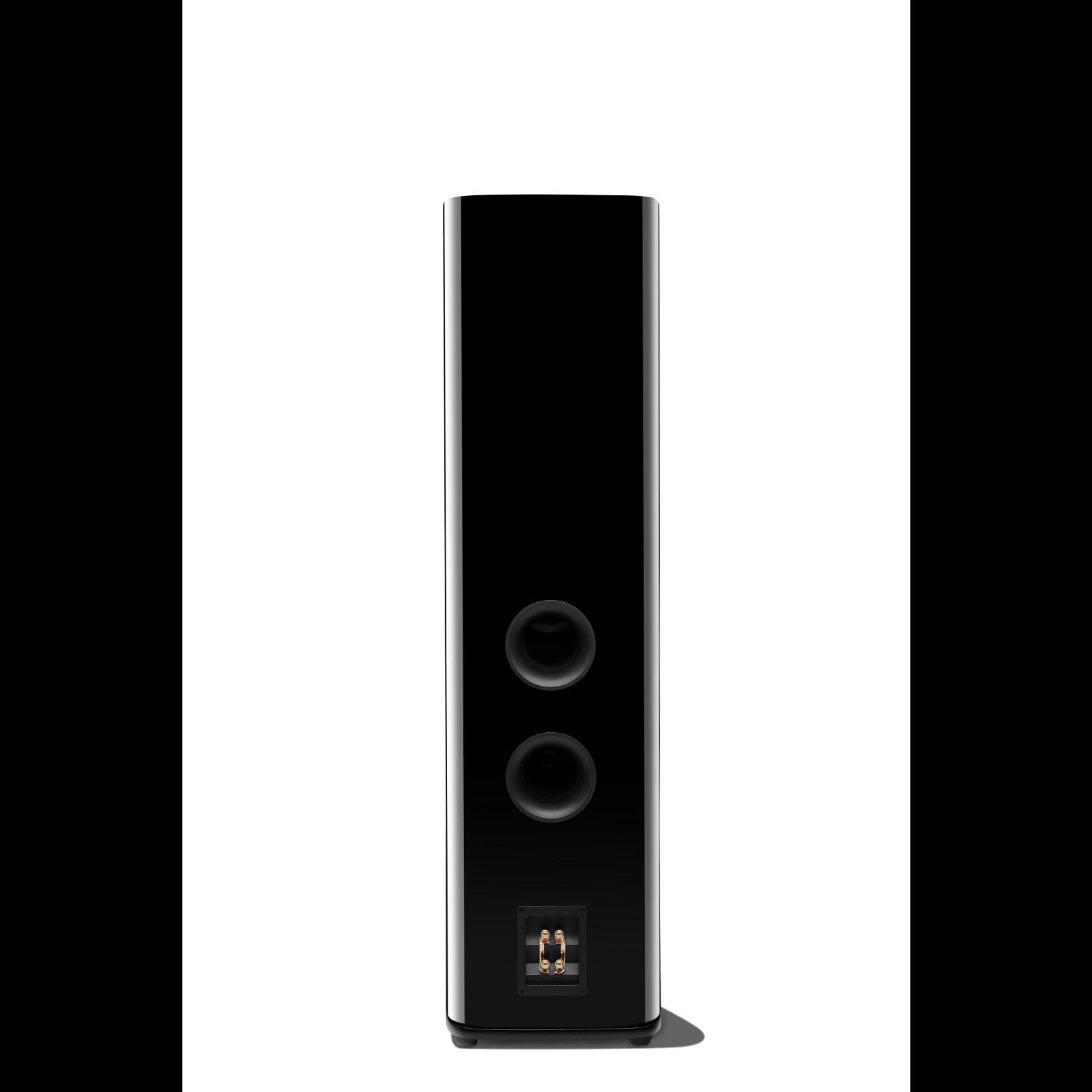HDI-3800 - Black Gloss - 2 ½-way Triple 8-inch (200mm) Floorstanding Loudspeaker - Back