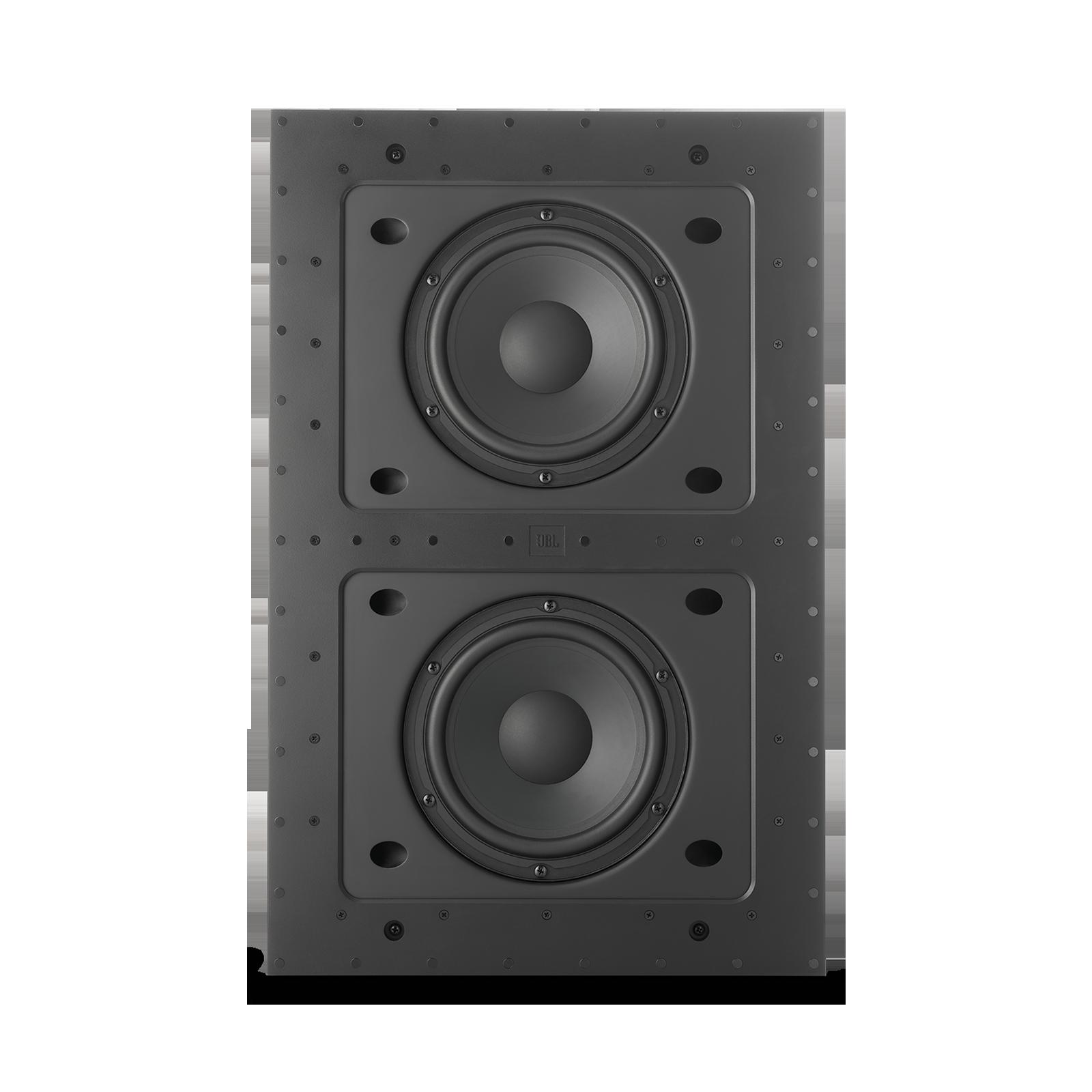 """JBL SSW-4 - Black Matte - Dual 8"""" (200mm) In-wall Passive Subwoofer - Detailshot 1"""