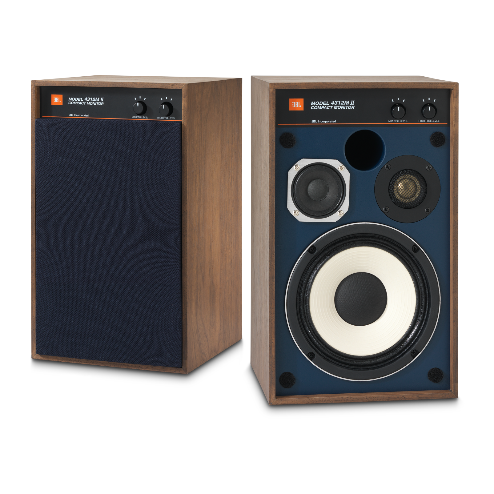 "4312MII - Brown - 5.25"" 3-way Studio Monitor Loudspeaker - Hero"